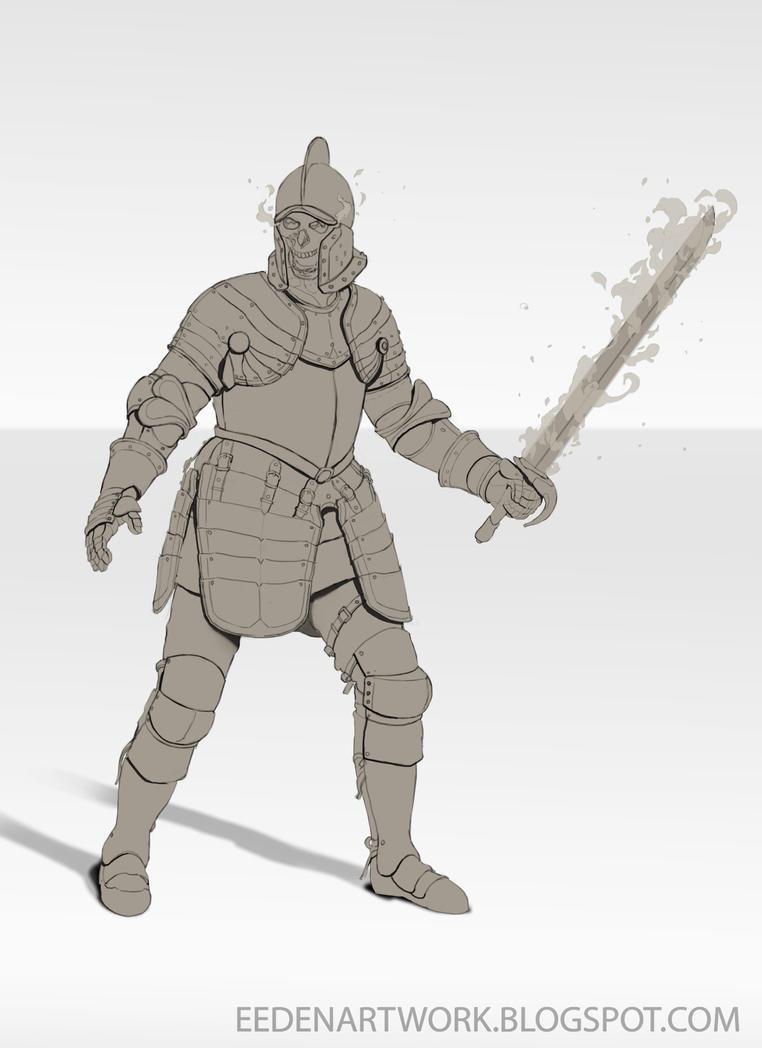 Skeleton Concept 2 by Eedenartwork