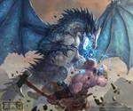 BlueDragon devaintart