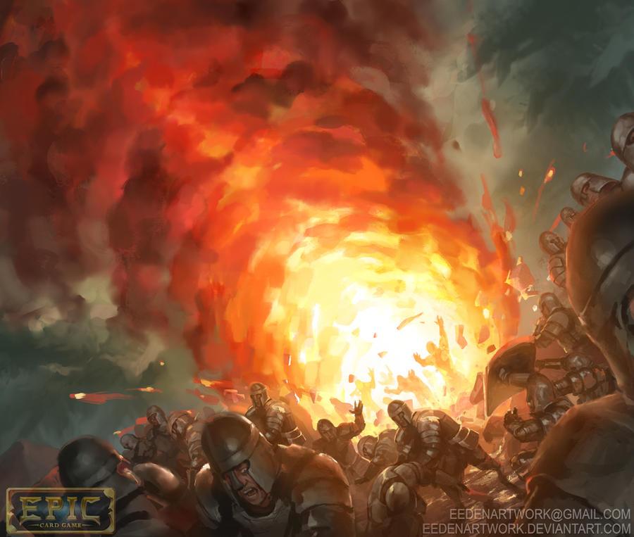 Fireball By Eedenartwork On DeviantArt