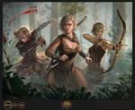 Ascendancy Classes Ranger Poster