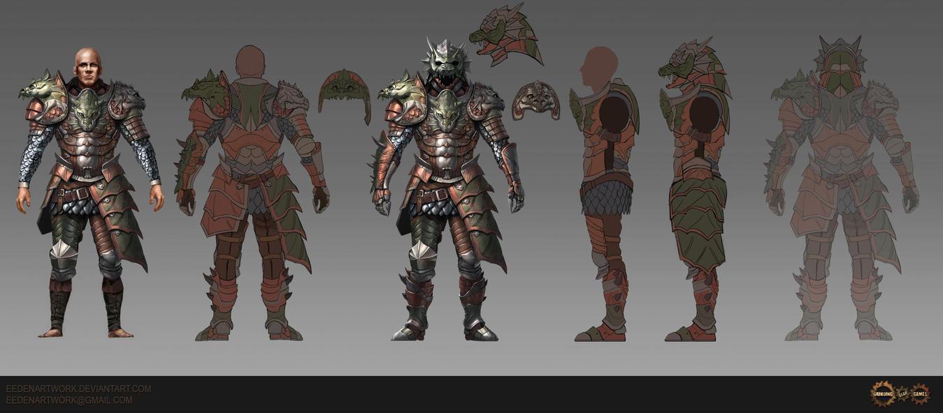 hydra Armour Set by Eedenartwork