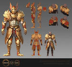 Pheonix Armour Set