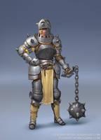 Heavy Armour Knight by Eedenartwork