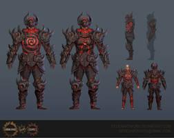 Ultimate Chaos Armour by Eedenartwork