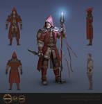 Warlock Wizard Armour
