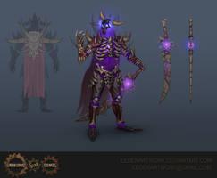 Abyssal Lich Armour Set by Eedenartwork