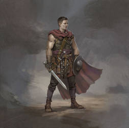Roman Foot-Soldier by Eedenartwork