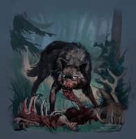 Wolf by Eedenartwork
