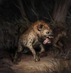 Hyena by Eedenartwork