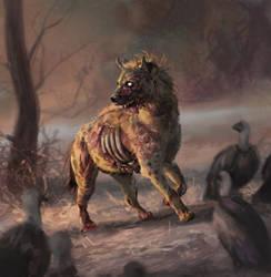 Undead Hyena by Eedenartwork