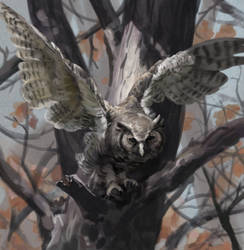 DeathlessOwl v1 by Eedenartwork