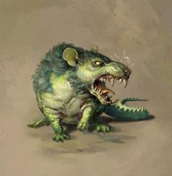 Crocodile Rat by Eedenartwork