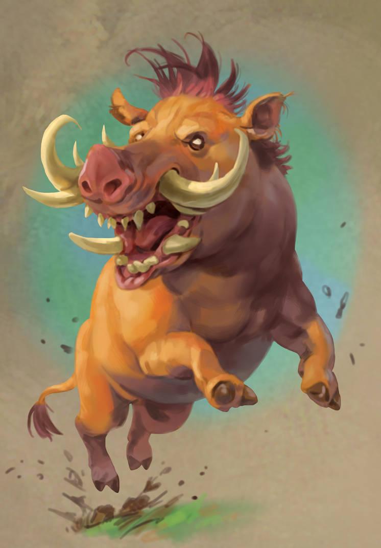 Wild Boar by Eedenartwork