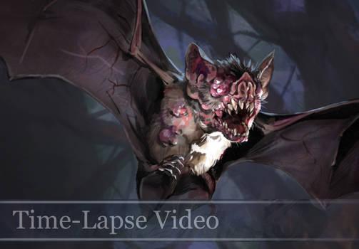 Time-lapse Mutated Bat Video