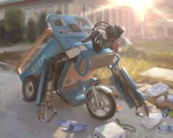 Robot Cleaner - Proko's May Challenger