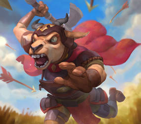 Hartebeest Warrior