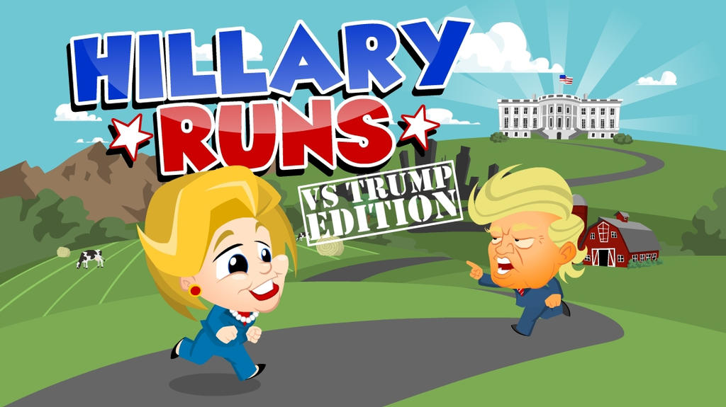 Hillary Runs mobile game by nsaabye