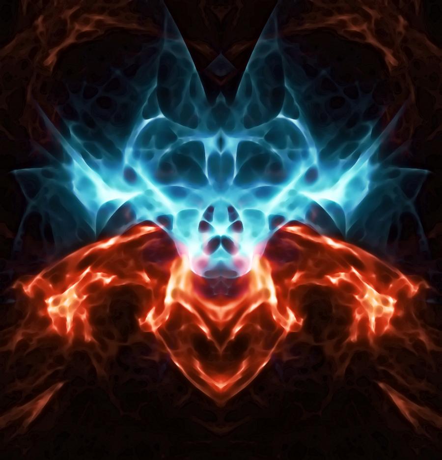 Good vs Evil Symbols Good vs Evil by Xxr3zd3vilxx