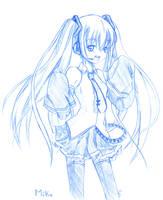 Blue Hatsune Miku