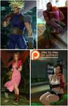 Final Fantasy VII. WIP