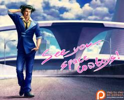 Spike Spiegel. Cowboy bebop by Feael
