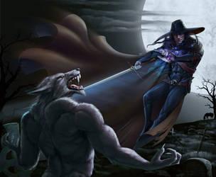 Vampire hunter D. Ver 1 by Feael