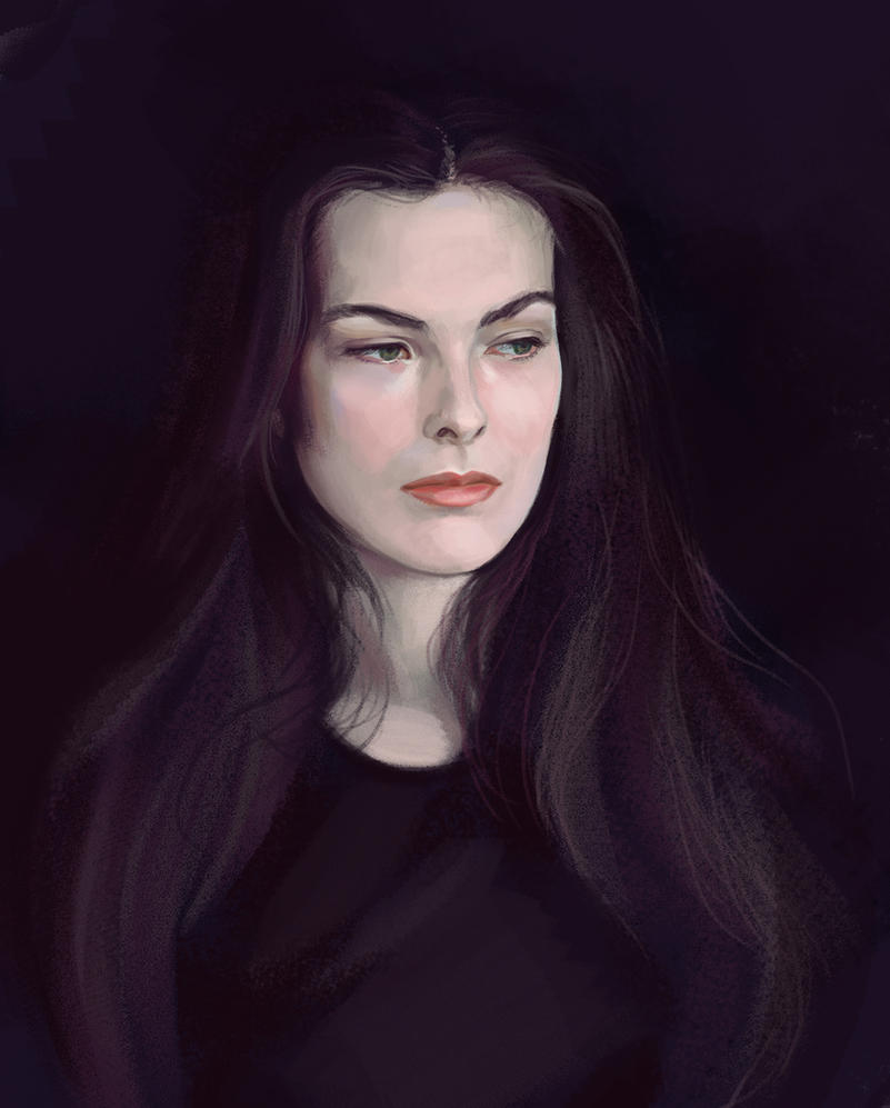 Carole Bouquet by Feael