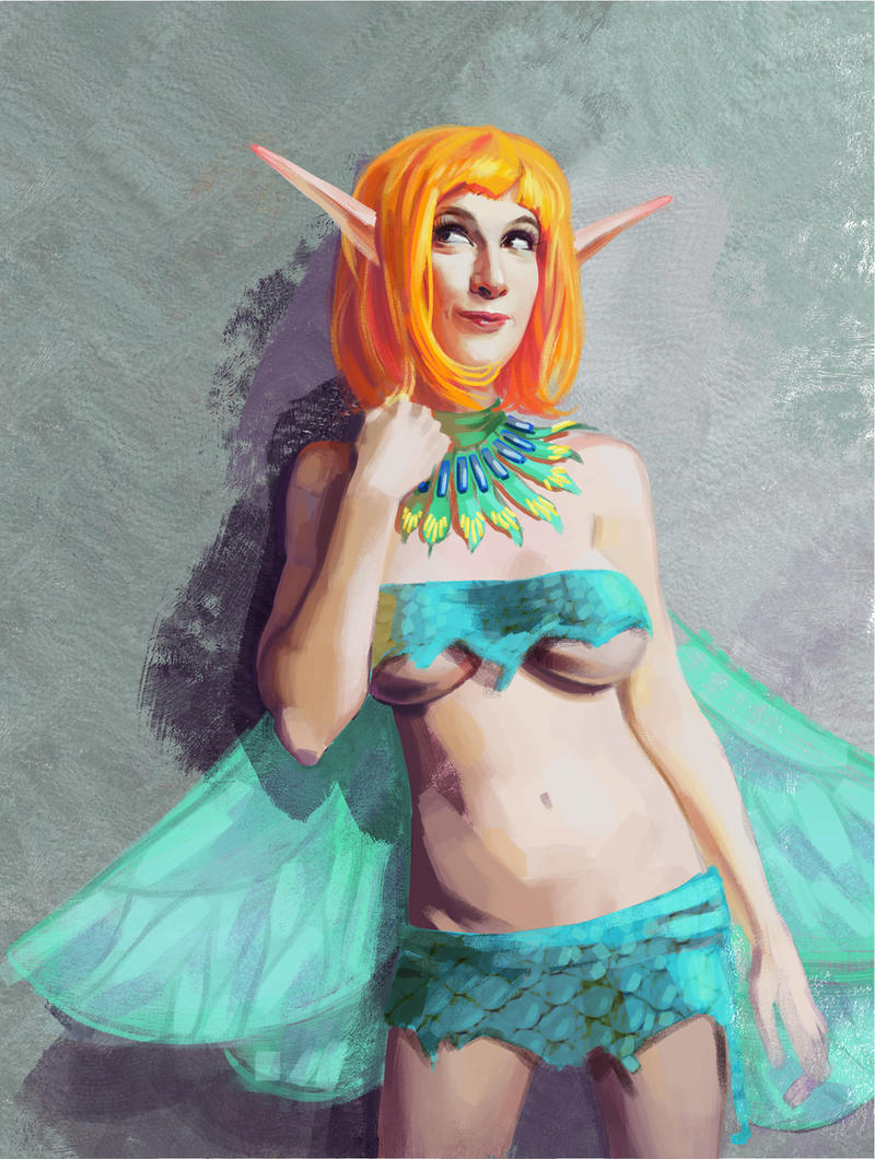 Illiara as Pixie by Feael
