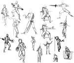 Fencers (scrabbles)