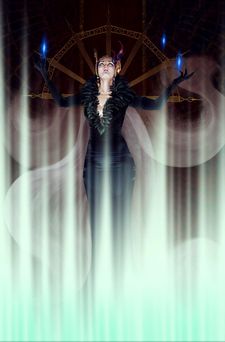 Sorceress Edea by Feael