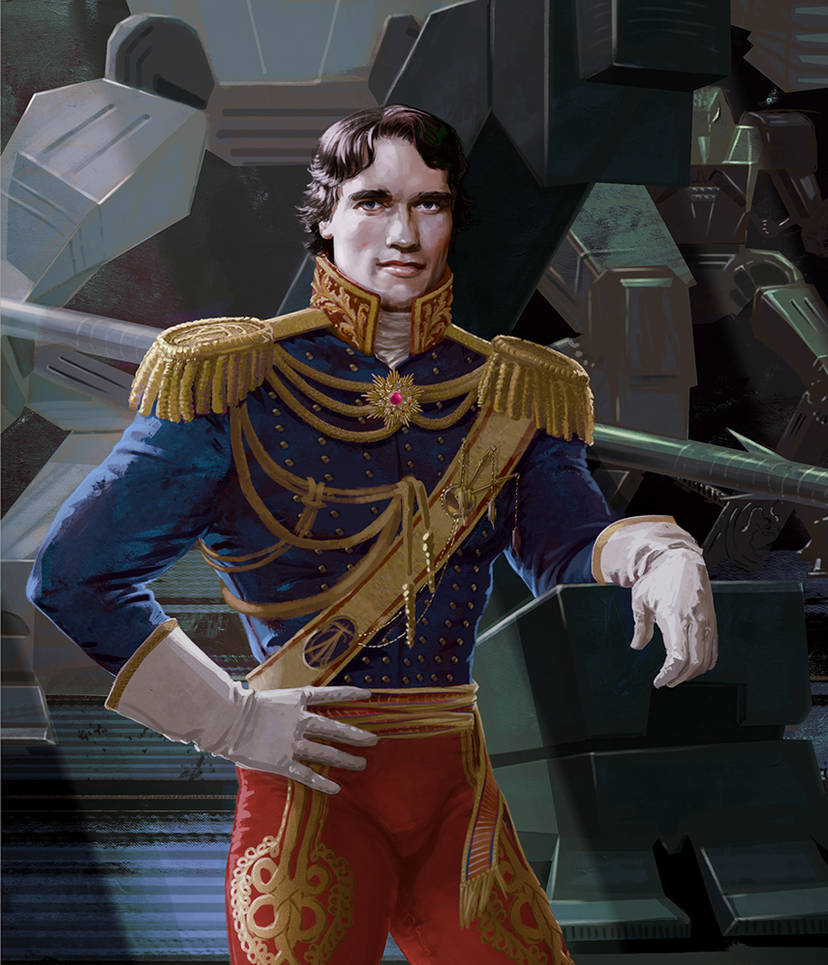 Admiral-General Starcad by Feael