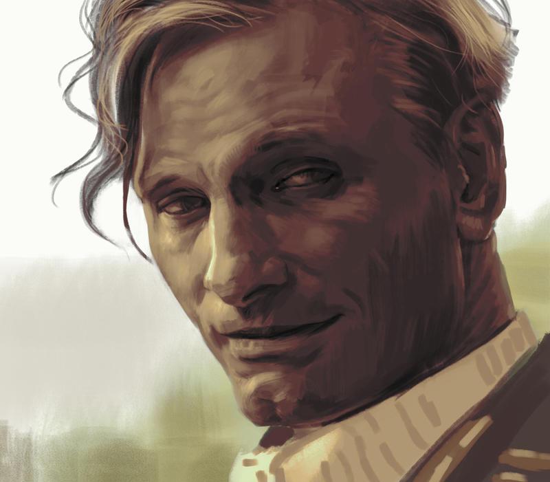 Viggo Mortensen by Feael