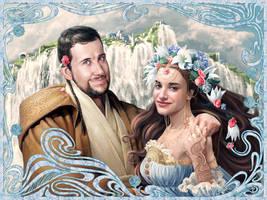 Portrait Enrique and Beatriz by Feael