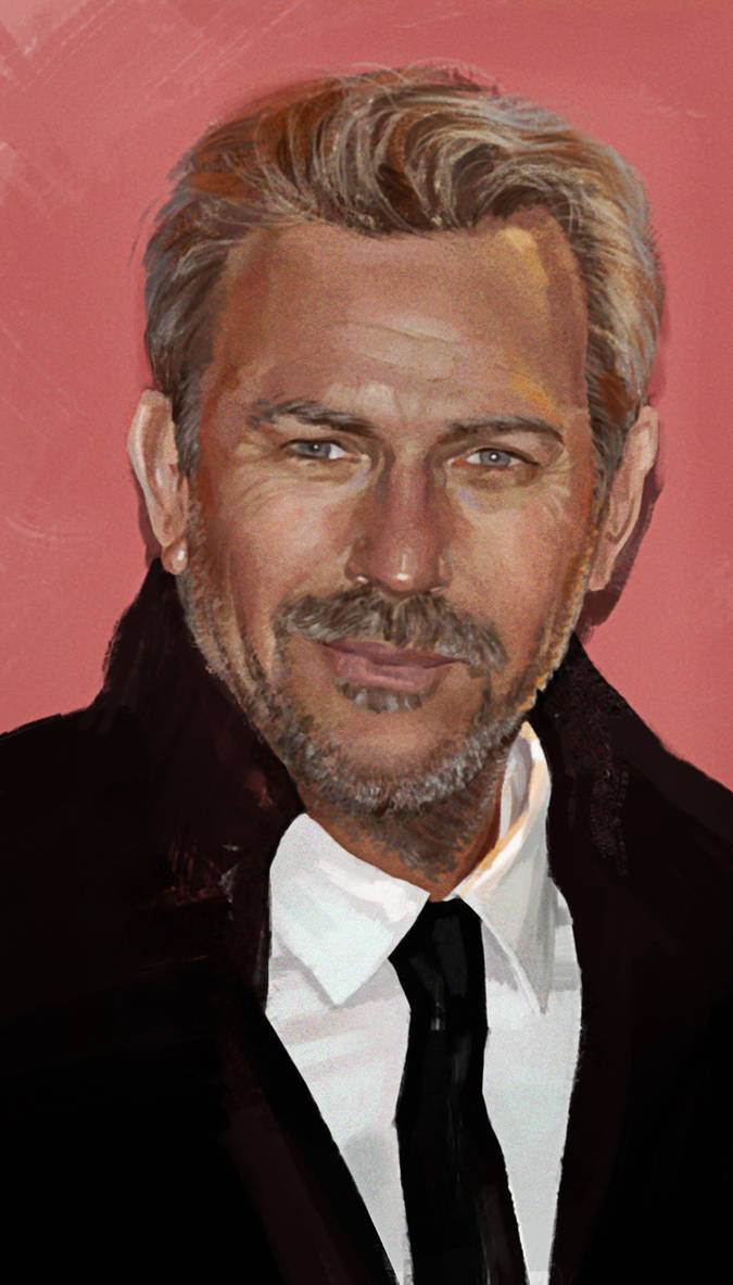 Kevin Costner by Feael