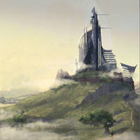 The castle by Feael