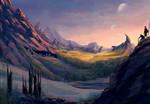 Caden foothills