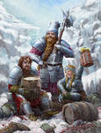 Dwarves (Threads of Fate game art)