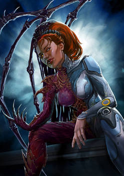 Sarah Kerrigan. Queen of blades
