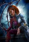 Sarah Kerrigan. Queen of blades by Feael