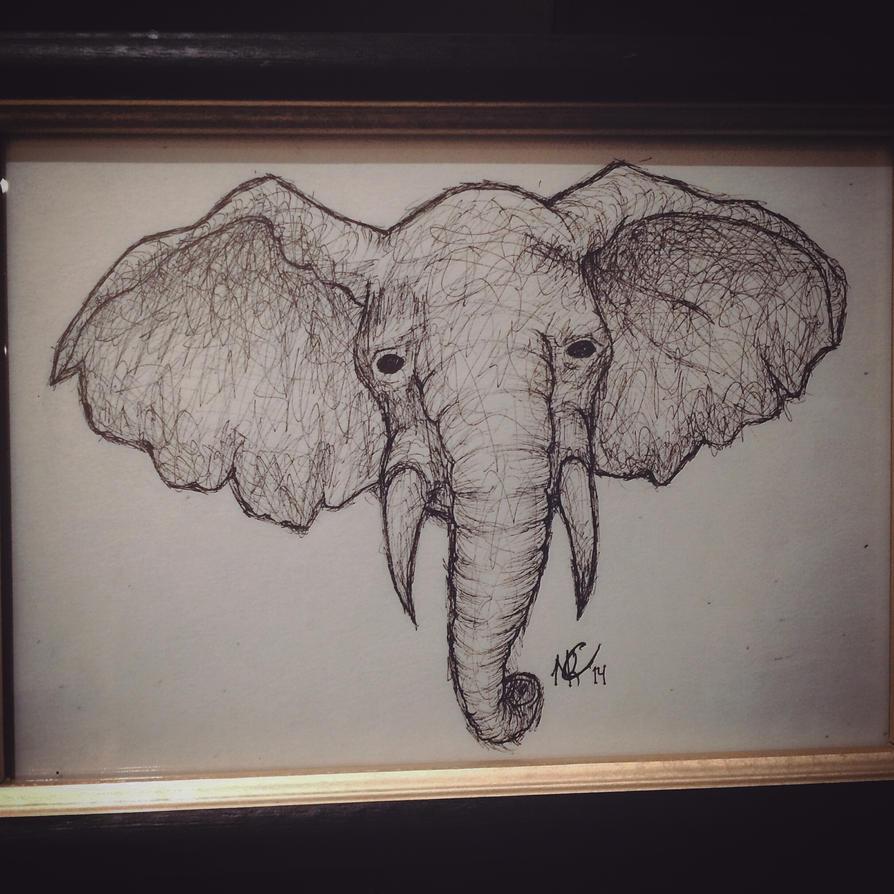 Elephant by spirithorse206
