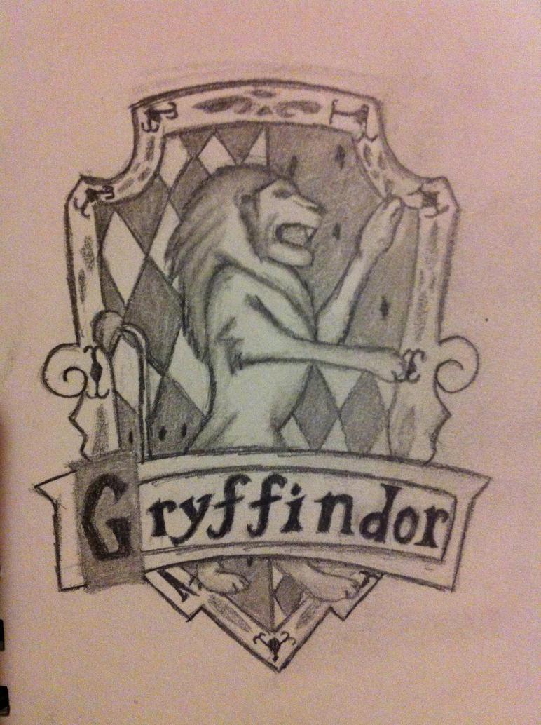gryffindor house logo by fantasyangel09 on deviantart