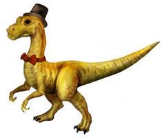 Formal Dinosaur by hwango