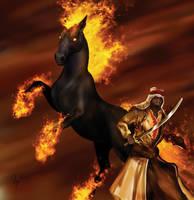 Fire Horse by hwango