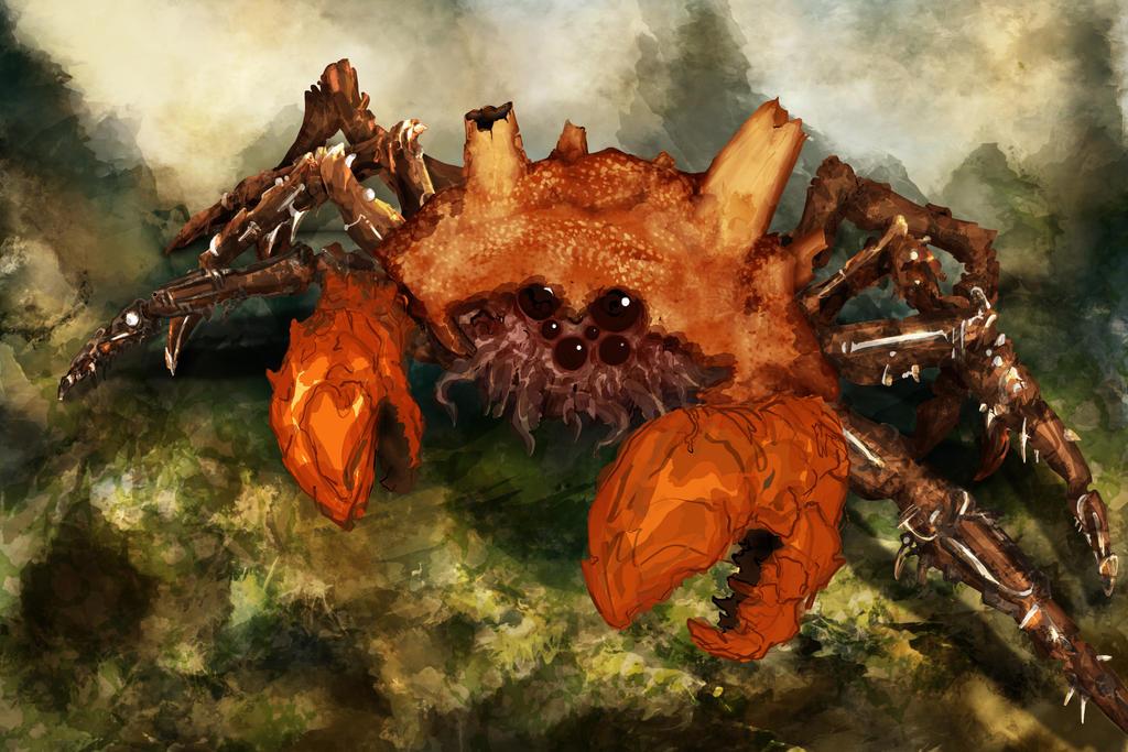 Steam Crab by hwango