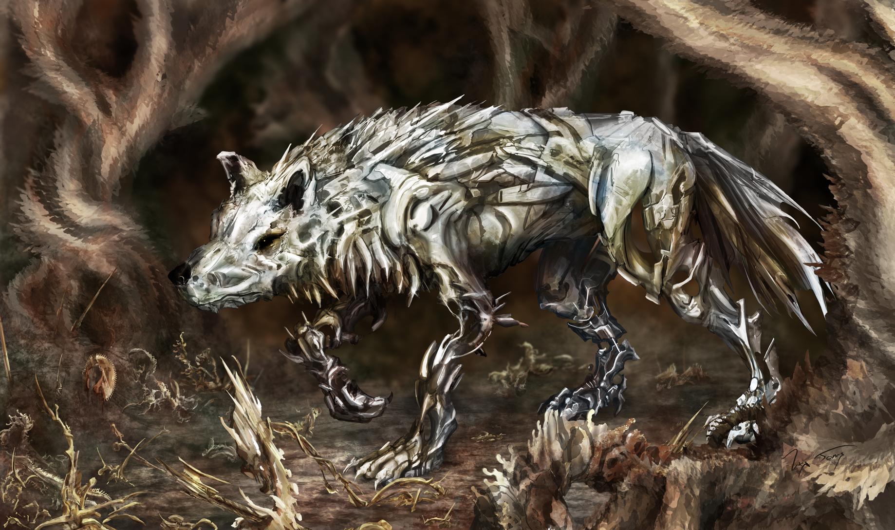 Relic Wolf by hwango