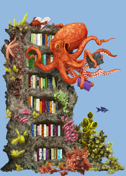Octopus Librarian