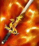 Quest Cards - Dragonhilt Sword