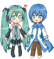 Pairing on your page: KaitoxMiku by Luumies