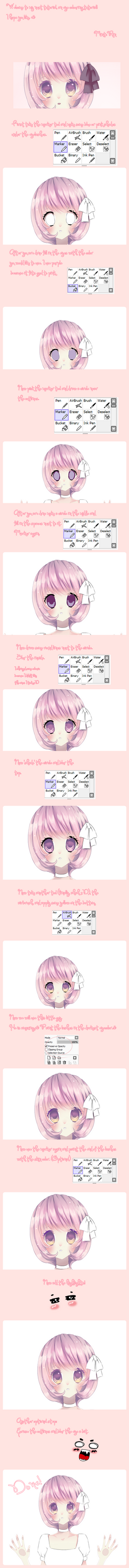 New eye colouring tutorial by Luumies