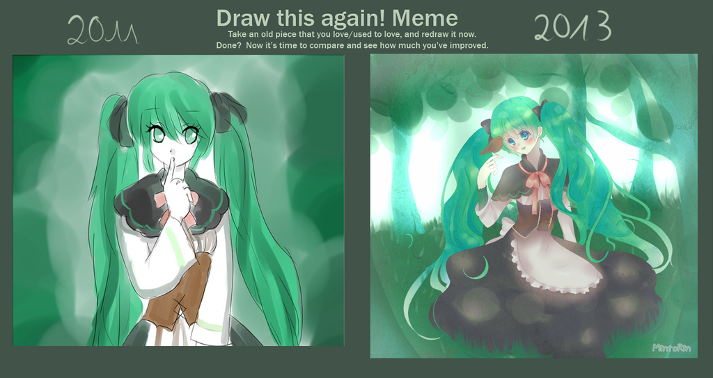 Draw this again Meme by Luumies